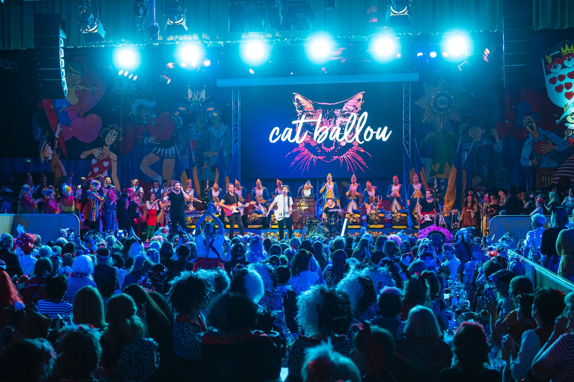 Eventfotografie - Cat Ballou live