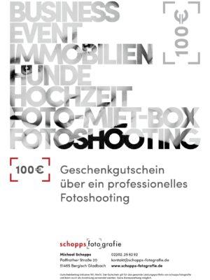 Fotogutschein Schopps Fotografie